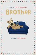 Boofle Brother Birthday Card